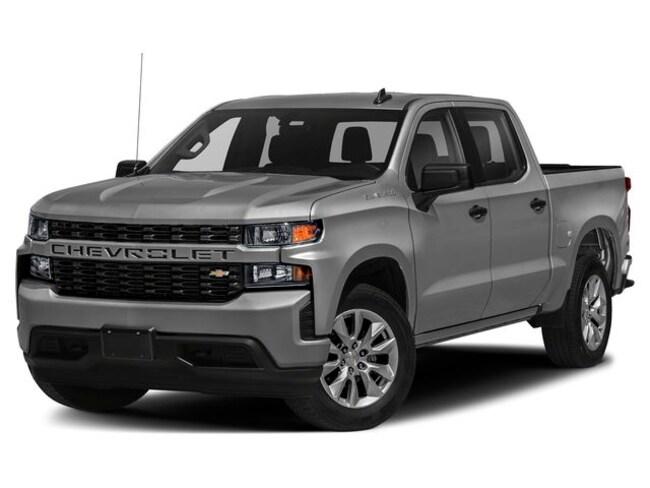 New 2020 Chevrolet Silverado 1500 Silverado Custom Truck Crew Cab San Benito