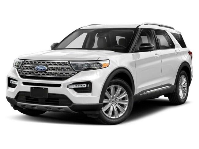 New 2020 Ford Explorer XLT 4WD Sport Utility Casper, WY