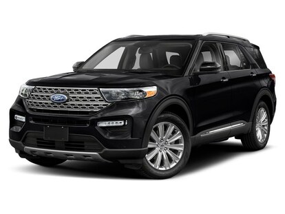 Black Ford Explorer >> New 2020 Ford Explorer Limited For Sale Near Dubuque Shop Black Suv In Ia