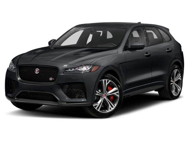 New 2020 Jaguar F-PACE SVR SUV in Troy