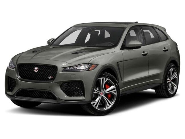 New 2020 Jaguar F-PACE SVR SUV in Madison, NJ