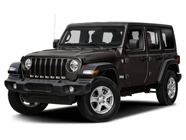 New 2020 Jeep Wrangler UNLIMITED SPORT S 4X4 Sport Utility Santa Fe, NM
