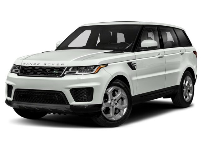 New 2020 Land Rover Range Rover Sport SVR SUV in Farmington Hills, MI