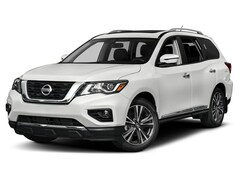 New 2020 Nissan Pathfinder Platinum SUV in Wallingford CT