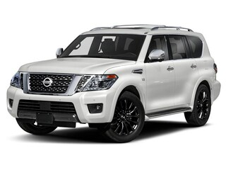New 2020 Nissan Armada Platinum SUV Westborough
