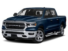 New 2020 Ram 1500 BIG HORN CREW CAB 4X4 5'7 BOX Crew Cab 1C6SRFFT0LN327452 for Sale in Elkhart IN
