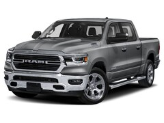 New 2020 Ram 1500 BIG HORN CREW CAB 4X4 5'7 BOX Crew Cab 1C6SRFFT1LN289603 near Jefferson City, MO
