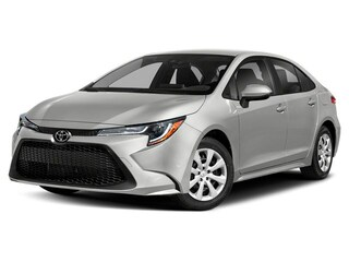 New 2020 Toyota Corolla LE CVT Sedan