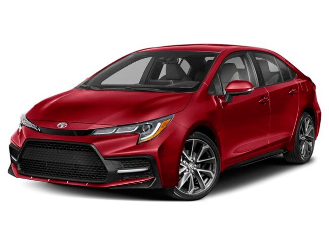 New 2020 Toyota Corolla XSE Sedan in Bellevue, NE