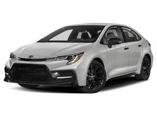 New 2020 Toyota Corolla Nightshade Sedan 5YFS4RCE6LP037606 21287 serving Baltimore
