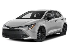 New Vehicle 2020 Toyota Corolla Hatchback Nightshade Hatchback For Sale in Coon Rapids, MN
