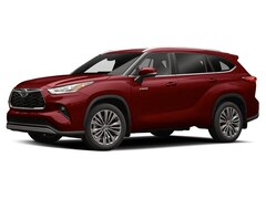 New 2020 Toyota Highlander Hybrid Platinum SUV for sale in Hartford, CT