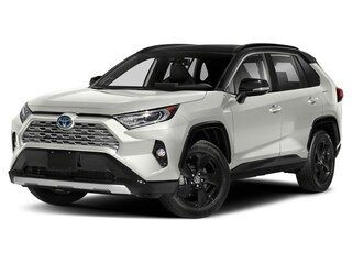 New 2020 Toyota RAV4 Hybrid XSE SUV for sale in Franklin, PA