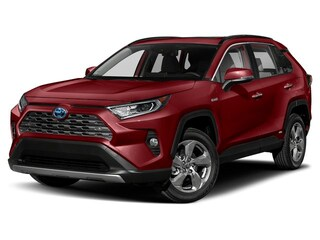 New 2020 Toyota RAV4 Hybrid Limited SUV for sale in Modesto, CA