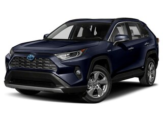 New 2020 Toyota RAV4 Hybrid Limited SUV for sale in Clearwater