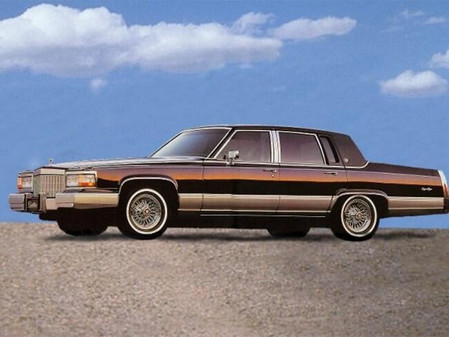 1992 CADILLAC BROUGHAM 4DR Sedan Sedan