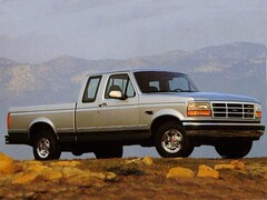 1992 Ford F-150 Custom Truck Super Cab