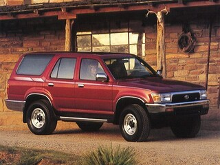 1993 Toyota 4Runner SR5 SUV JT3VN39W4P0101072 for sale in Kaysville, Utah at Young Kia