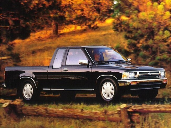 1993 Toyota 2WD Trucks Deluxe 2.4L Truck Extended Cab