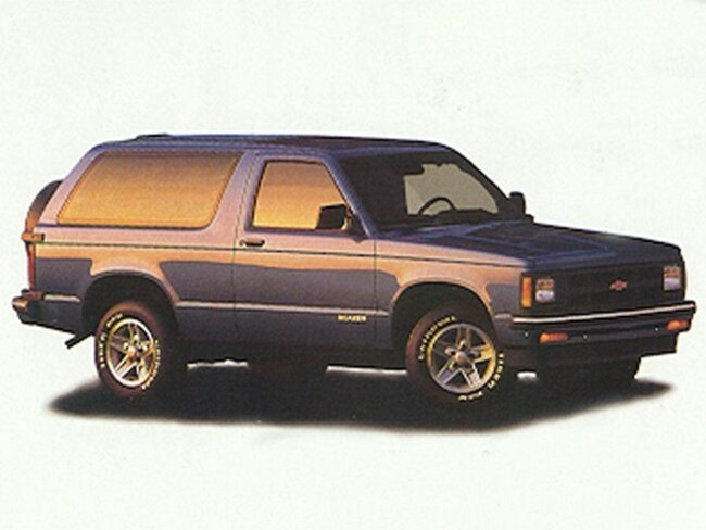 1994 Chevrolet S-10 Blazer Base SUV for sale in Madras, OR