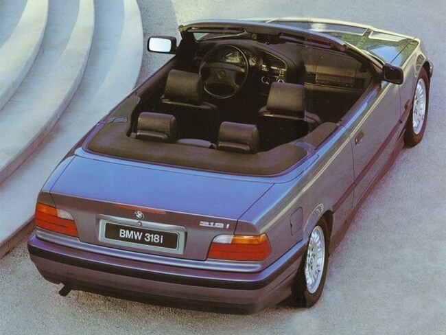 1995 BMW 3 Series 325iC Convertible