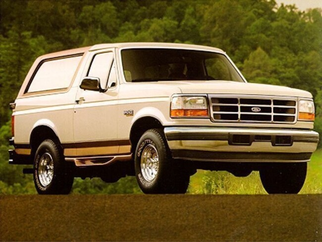 Used 1995 Ford Bronco Eddie Bauer SUV For Sale McComb MS