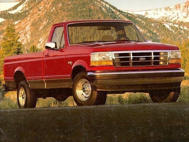 1995 Ford F-150 XLT Regular Cab Truck