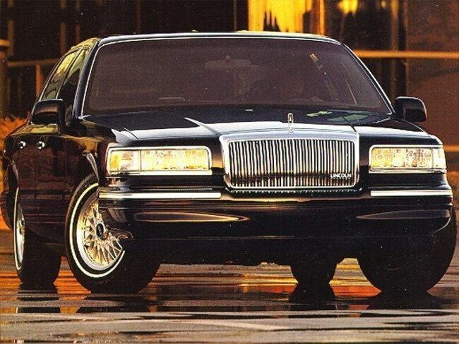 Used 1995 Lincoln Town Car For Sale At Tennessee Valley Ford Inc