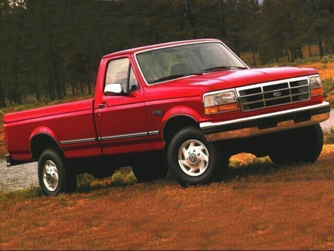 1996 Ford F-250 XL Long Bed Truck