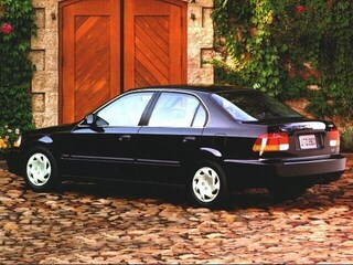 Used 1996 Honda Civic LX-O Sedan Houston