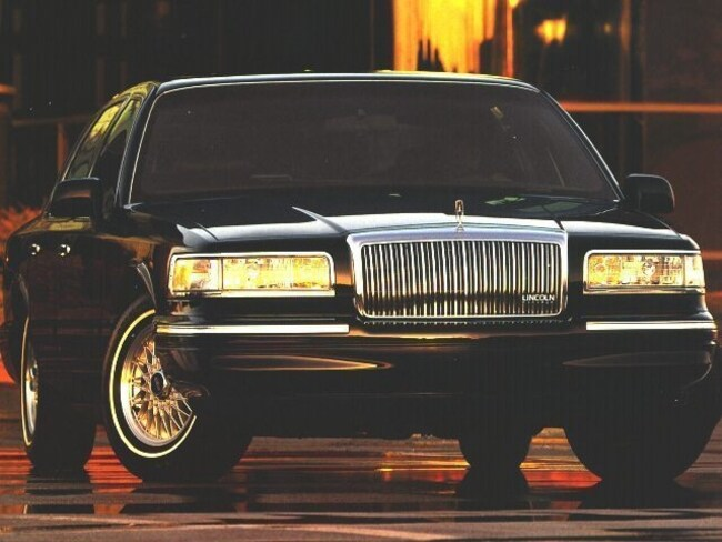 Used 1996 Lincoln Town Car For Sale Grand Rapids Mi