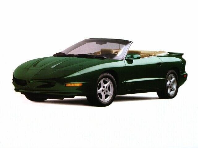 1996 Pontiac Firebird Base Convertible