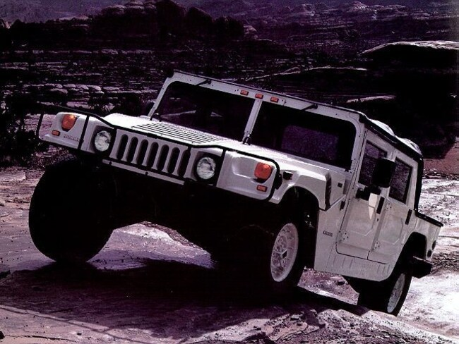 1997 AM General Hummer Open Top SUV