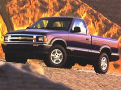 Used 1997 Chevrolet S-10 LS Regular Cab 1GCCS1447V8163571 Chiefland near Gainesville