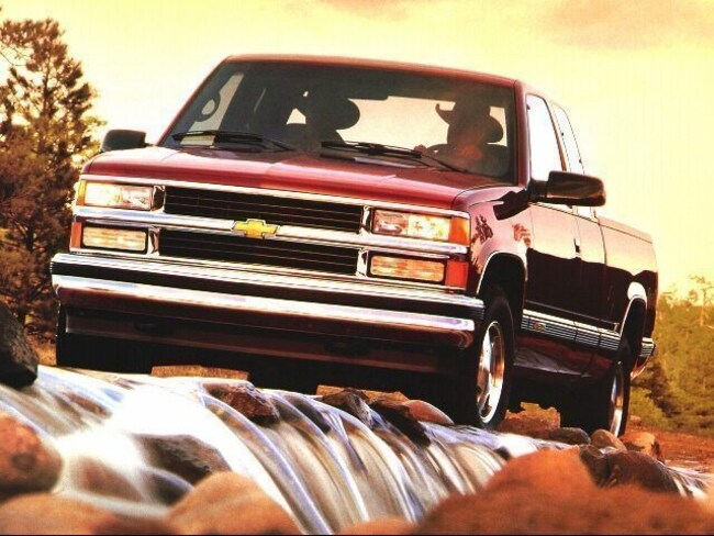 1997 Chevrolet C/K 1500 Series Silverado Extended Cab Pickup