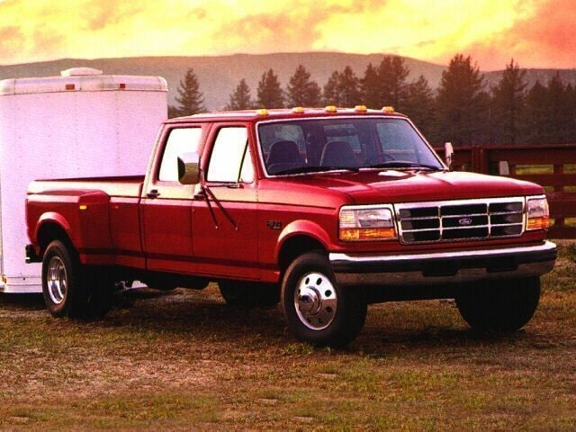 1997 Ford F-250 Crew Cab Short Bed Truck