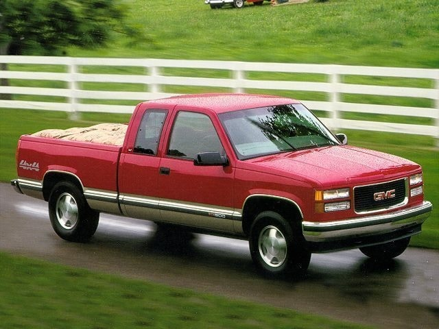 1997 GMC Sierra 1500 Extended Cab Truck