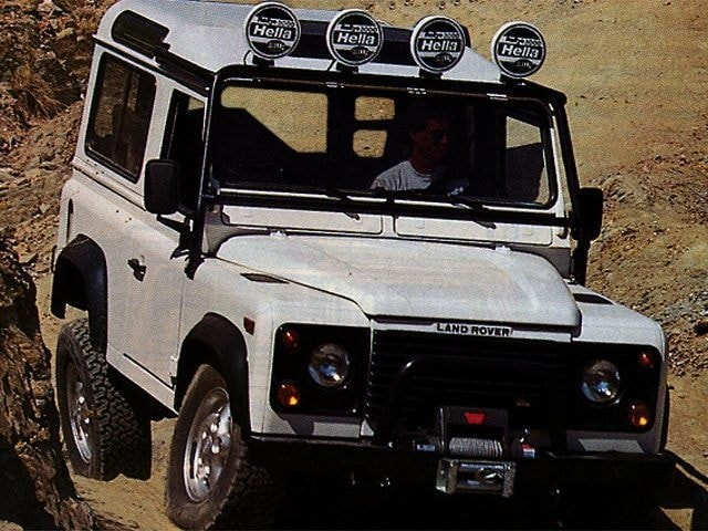 1997 Land Rover Defender 90 Station  Hard-Top SUV