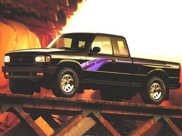 1997 Mazda B-Series 2WD Truck SE Cab Plus 125 WB 2.3L I4 Manual SE