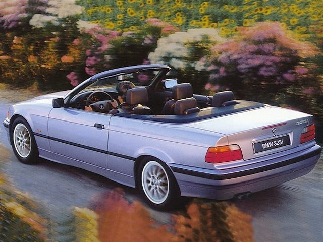 1998 BMW 323iC Convertible