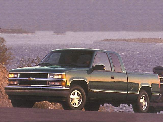 1998 Chevrolet C1500 Silverado Extended Cab Short Bed Truck