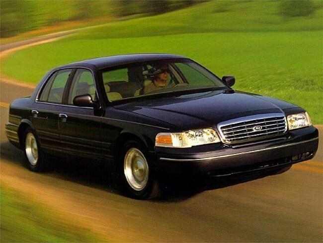 1998 Ford Crown Victoria LX RWD Car Sedan