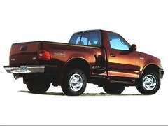 1998 Ford F-150 Lariat Extended Cab Flareside Truck