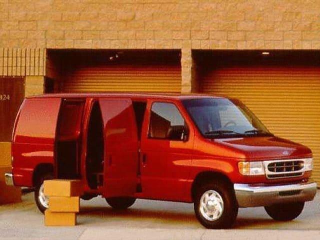 1998 Ford E-350 Commercial Cargo Van