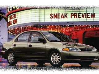 1998 Mazda Protege DX Sedan