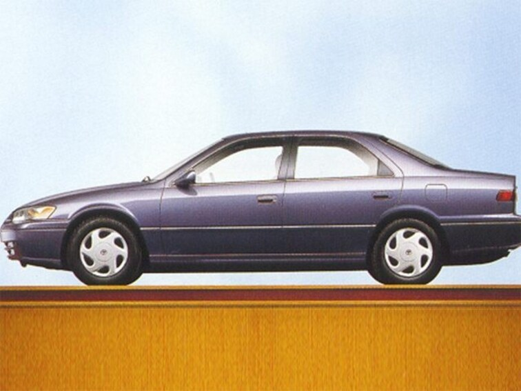 Used 1998 Toyota Camry 4dr Sdn Le Auto Car Classic Green Pearl