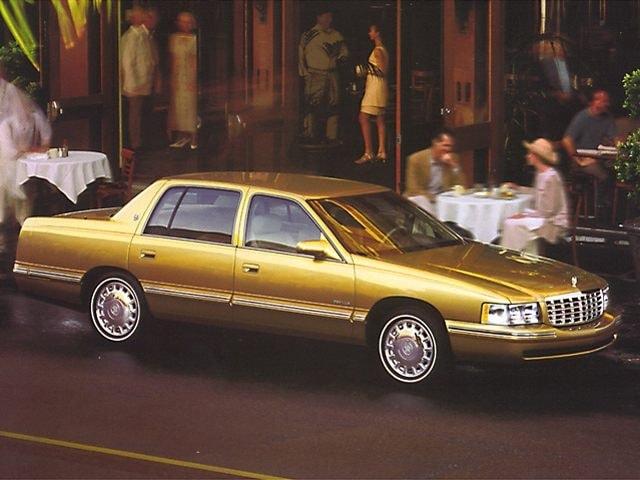 1999 CADILLAC DeVille Base Sedan