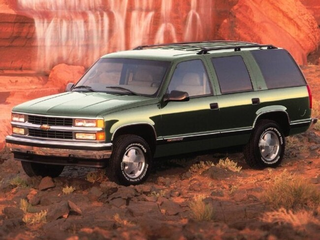 1999 Chevrolet Tahoe 4WD SUV