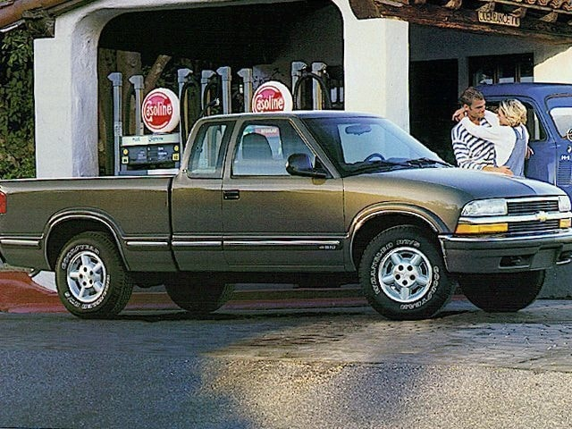 1999 chevrolet s-10 extended cab