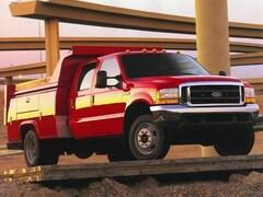 1999 Ford F-550 Chassis XL Dump Truck w/Tool Box Truck Regular Cab